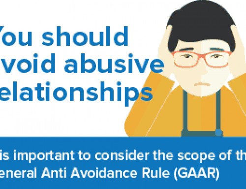 You should avoid abusive relationships