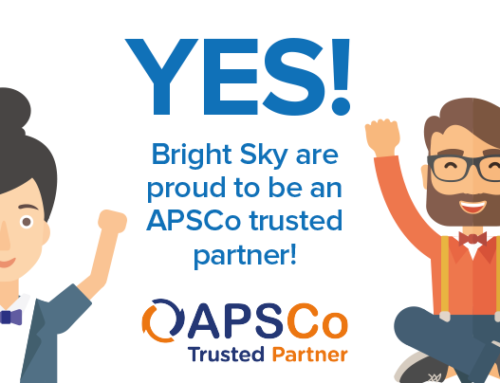 Bright Sky becomes an APSCo trusted partner!